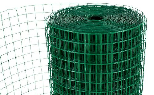 Pvc Welded Wire Mesh Rolls For Garden Fencing